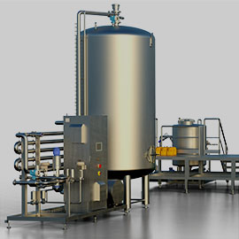 AMS INLINE MIX is an inline soft drink beverage mixer for multiple components